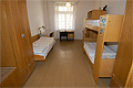 Triple room in hostel Budec in Prague