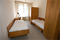Double room with shared showers and toilets